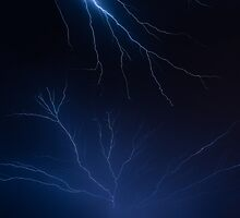 Lightning Shock and Awe by Kenneth Keifer