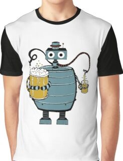 Beer Bot Graphic T-Shirt