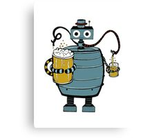 Beer Bot Canvas Print
