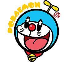Kawaii Doraemon Photographic Print