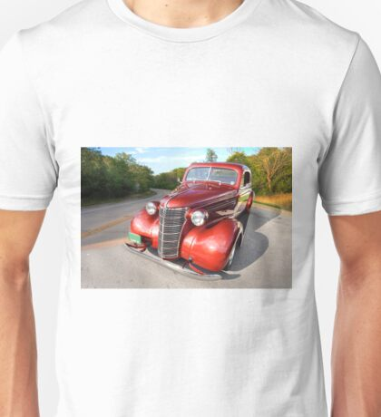 1938 Chevy Business Coupe in the Country Unisex T-Shirt