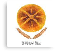 The Sourdough Bread Canvas Print
