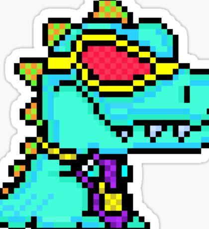 Tiny Arms but Big Chainz - Boss Rex Sticker