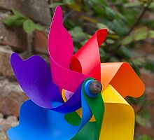 colored pinwheel by spetenfia