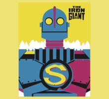 The Iron Giant - CMYK Kids Tee