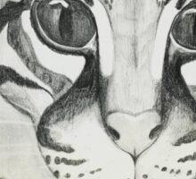 Ocelot Sketch Sticker