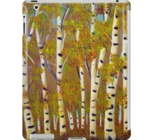 Birch trees-3 iPad Case/Skin