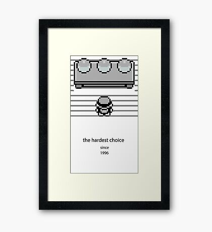 Choose one Framed Print