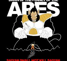 Dawn of the planet of the Apes - Saiyan by berserk7