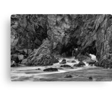 Rocky Surf  Canvas Print