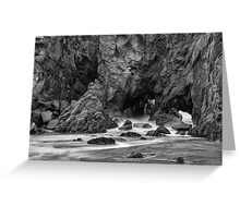 Rocky Surf  Greeting Card
