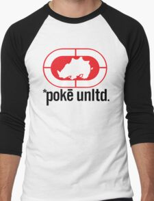 Poké Unltd Men's Baseball ¾ T-Shirt