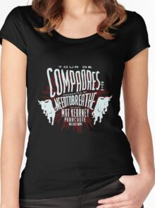 Needtobreathe Tour De Compadres 2016 Women's Fitted Scoop T-Shirt