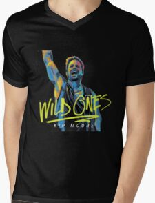 WILD ONES KIP MOORE Mens V-Neck T-Shirt