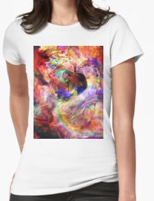 Cosmo Angel  Womens Fitted T-Shirt