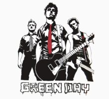 Green Day  One Piece - Short Sleeve