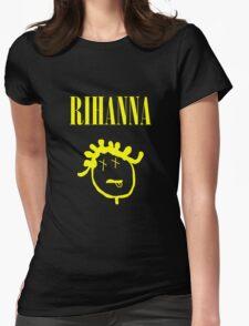 Rihanna Nirvana Womens Fitted T-Shirt