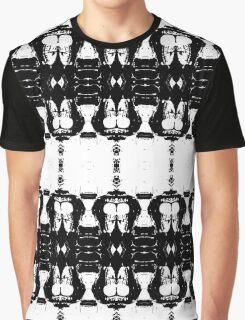 Monochrome Pattern Graphic T-Shirt