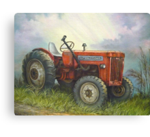 Old International Farm Tractor Canvas Print