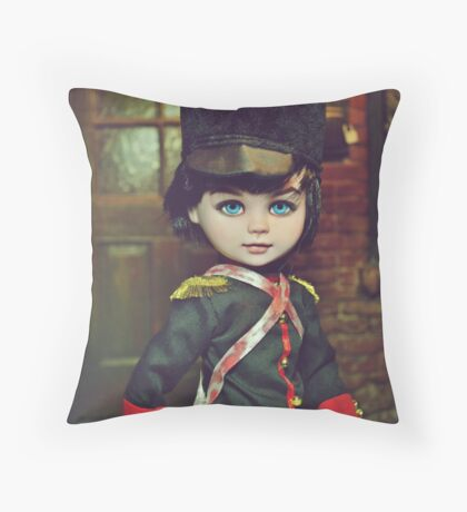 Toy Soldier Doll: Ver.1 Throw Pillow