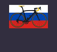 Bike Flag Russia (Big - Highlight) Unisex T-Shirt
