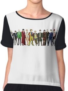 Doctor Who - 13 Doctors lineup Chiffon Top
