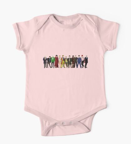 Doctor Who - 13 Doctors lineup One Piece - Short Sleeve