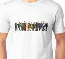 Doctor Who - 13 Doctors lineup Unisex T-Shirt