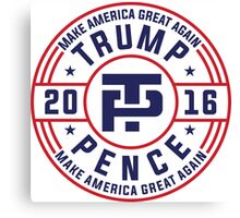 Trump Pence Election 2016 Canvas Print