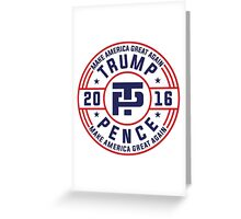 Trump Pence Election 2016 Greeting Card