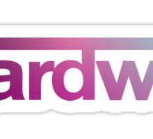 Hardwell - Blue Violet Color Sticker