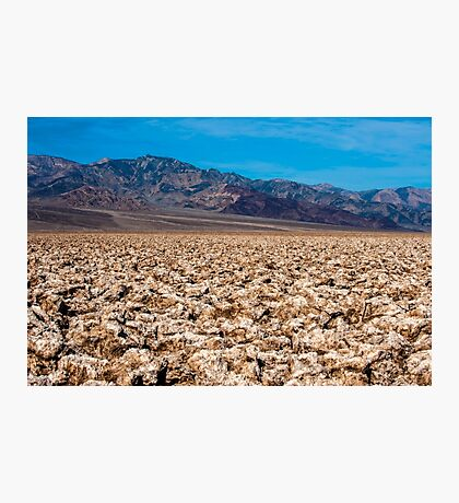 Devil's Golf Course Photographic Print