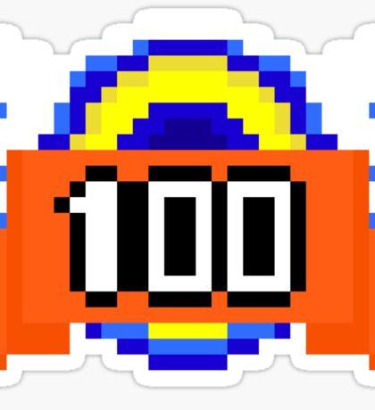 Keep it 100- Pixels Sticker