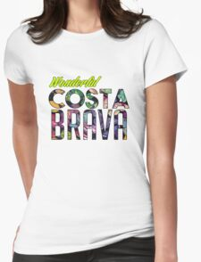 Costa Brava Womens Fitted T-Shirt