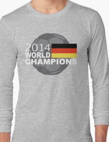 2014 World Cup Soccer Champions Germany Long Sleeve T-Shirt