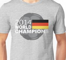 2014 World Cup Soccer Champions Germany Unisex T-Shirt