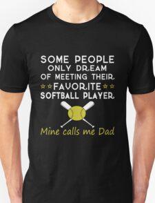 Daddy - Softball Dad Unisex T-Shirt
