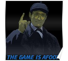 The Game is Afoot Poster