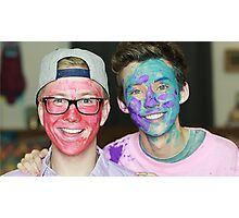 Troyler Facepaint Photographic Print
