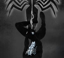 Black Suit Spiderman by Holly Jane