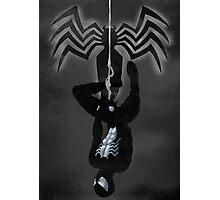 Black Suit Spiderman Photographic Print