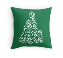 Christmas Quote 2 Throw Pillow