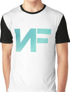 NF - Turquoise Color Graphic T-Shirt