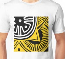 African Inspired Bold Graphic Pattern Unisex T-Shirt