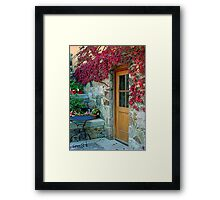 """The Kitchen Door"" Framed Print"