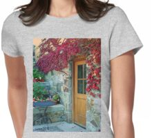 """""""The Kitchen Door"""" Womens Fitted T-Shirt"""