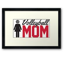 Volleyball Mom Framed Print