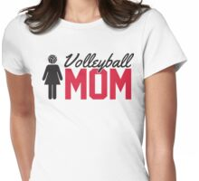 Volleyball Mom Womens Fitted T-Shirt