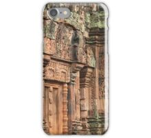 Temple in Pink, Banteay Srey: Siem Reap, Cambodia iPhone Case/Skin