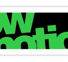 lowmotion (4) Sticker